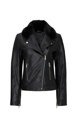 Clarkson Leather Jacket by Samantha Sipos