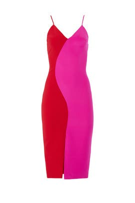 84ed4fe49d Colorblock Slip Dress by Christian Siriano for $195 - $205 | Rent the Runway