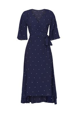 Georgia Star Wrap Dress by Charli