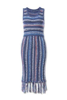 Tasseled Hem Dress by Derek Lam 10 Crosby