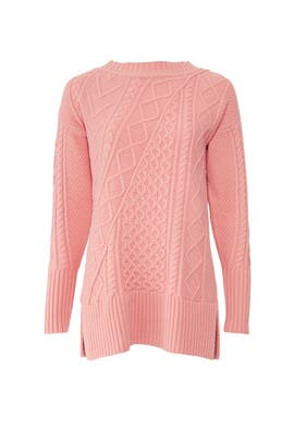Pink Lonnie Sweater by J.Crew