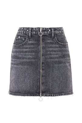 Denim Aideen Skirt by PAIGE