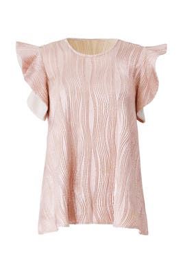 Rose Gold Ava Top by Hunter Bell