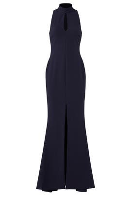 Navy Harbor Gown by LIKELY
