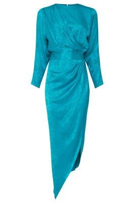 Blue Jade Dress by Ronny Kobo
