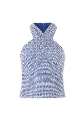 Blue Leighton Top by Ramy Brook