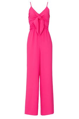 Pink Popover Jumpsuit by Slate & Willow