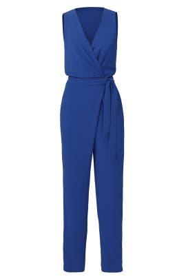 Blue Cordia Jumpsuit by Diane von Furstenberg