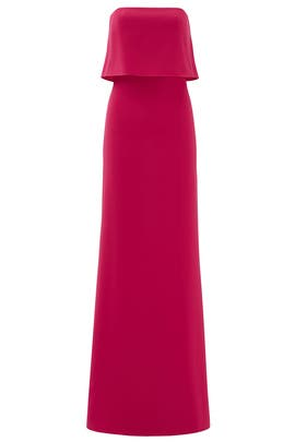 Pink Cerise Gown by HALSTON