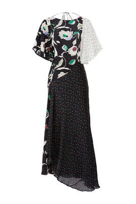 Floral Polka Dot Dress by Jason Wu Grey