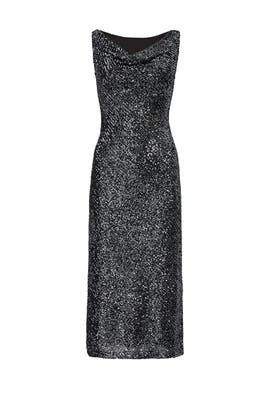 918dca1c4fba1 Cowl Neck Sequin Sheath by NAEEM KHAN for $255 | Rent the Runway