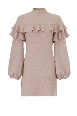 Blush Queenie Knit Dress by Saylor