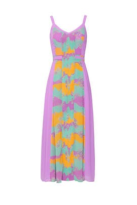 Pastel Plisse Dress by Three Floor