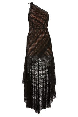 Rylee Lace Toga Dress by Aijek