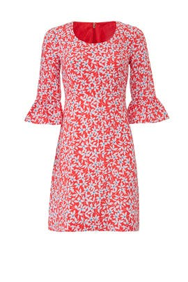Floral Bell Sleeve Dress by Draper James