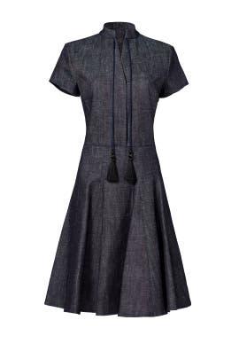 Tassel Tie Dress by DEREK LAM