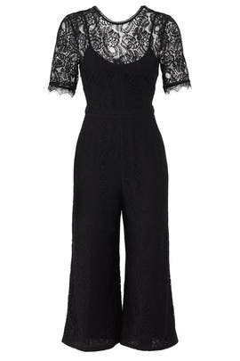 Rosa Lace Culotte Jumpsuit by Greylin