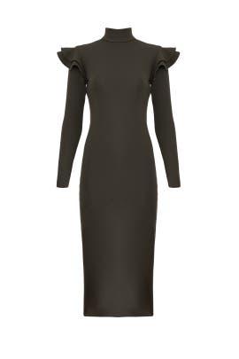 Olive Katelyn Knit Dress by Hunter Bell
