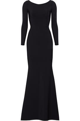 Black Cage Back Gown by La Petite Robe di Chiara Boni