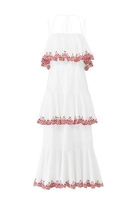 Tiered Clarissa Dress by Rebecca Minkoff