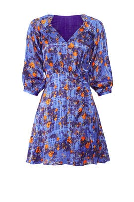 Fan Floral Natalia Dress by Tanya Taylor