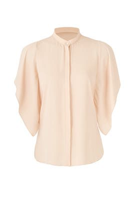 Blush Lori Top by Amanda Uprichard