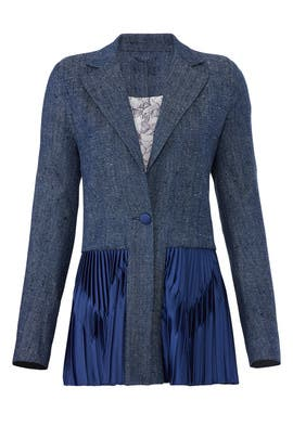 Pleated Kaya Blazer by Deborah Lyons