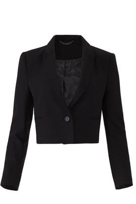 Wright Cropped Blazer by Equipment