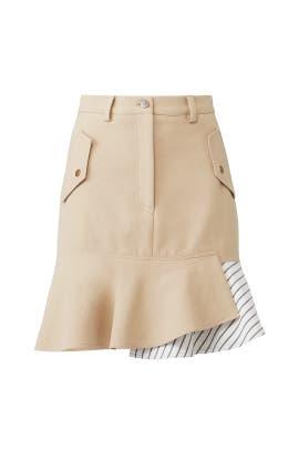Caprivi Stripe Skirt by Nicole Miller