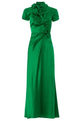 Emerald Kelly Dress by SALONI