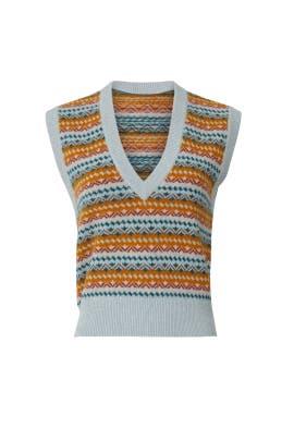 Helenka Sweater Vest by Veronica Beard