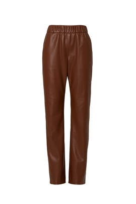 Colton Faux Leather Pants by Anine Bing
