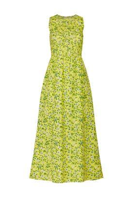 Yellow Maurice Dress by Banjanan
