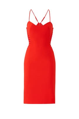 Side Strip Dress by HALSTON