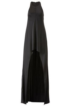 Black High Low Gown by KAUFMANFRANCO