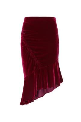 Astrid Velvet Skirt by Parker