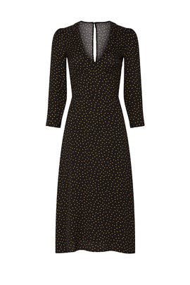Micro Dot Mabel Dress by Reformation
