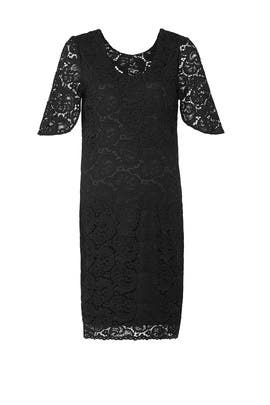 Black Lainey Maternity Dress by Rosie Pope