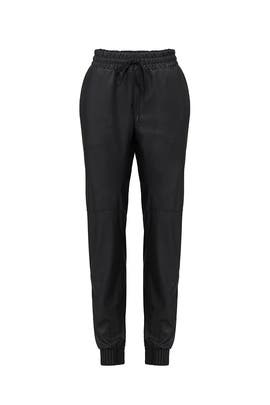 Faux Leather Pants by Rebecca Taylor