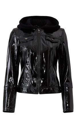 Patent Leather Jacket by Slate & Willow