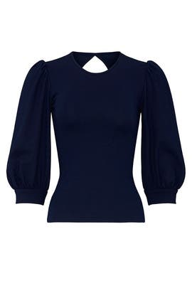 Navy Jilly Top by Amanda Uprichard