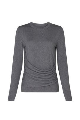 Drape Front Sweater by Derek Lam Collective