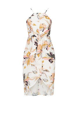 Wild Flower Midi Dress by Wish