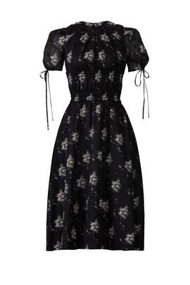 Orsolina Floral Midi Dress by Brock Collection