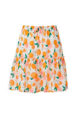 Tangerine Skirt by Color Me Courtney