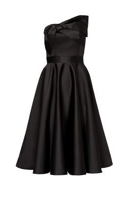 de41c65a9a67 Black Bow Tea Dress by Cynthia Rowley for $65 | Rent the Runway