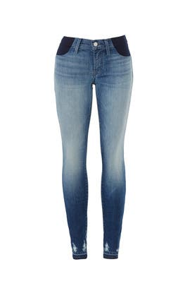 Glory Destruct Maternity Jeans by J BRAND