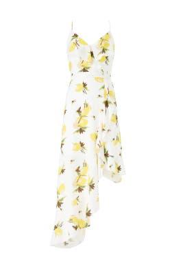 Ruffle Lemon Dress by Slate & Willow