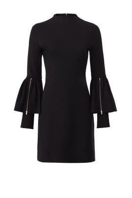 Zip Bell Sleeve Dress by Slate & Willow