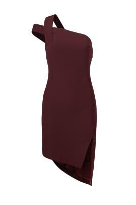 Plum Candice Dress by AQ/AQ